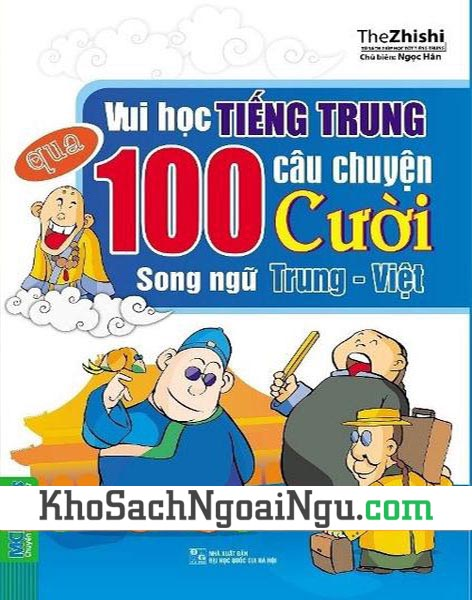 Sách 100 câu chuyện cười song ngữ Trung Việt