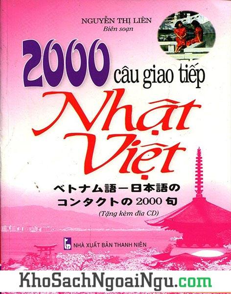 Sách 2000 câu giao tiếp Nhật Việt (Kèm CD)