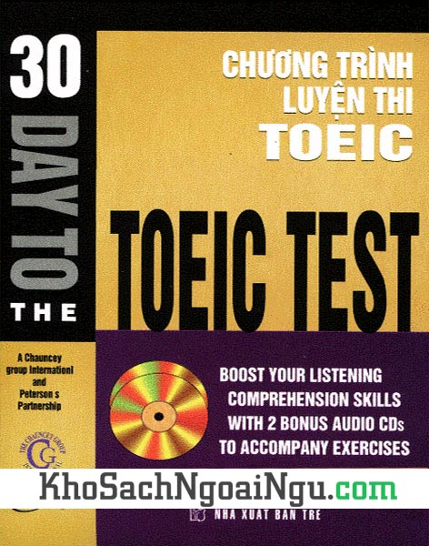 Sách 30 day to the Toeic test (Kèm CD)