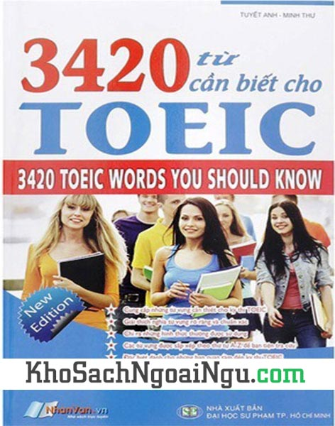 Sách 3420 từ cần biết cho Toeic