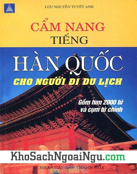 Sách Cẩm nang tiếng Hàn cho người đi du lịch
