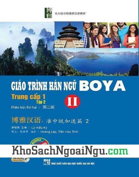 Sách Giáo trình Hán ngữ Boya Trung cấp I Tập 2 (Kèm CD)