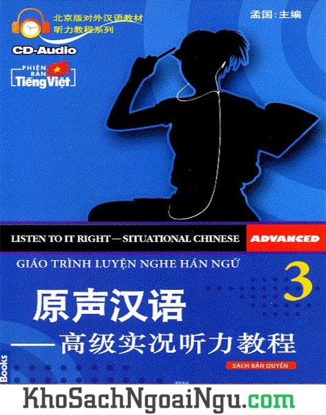 Sách Giáo trình luyện nghe Hán ngữ Tập 3