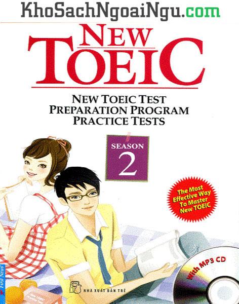 Sách New Toeic Season 2 (Kèm CD)