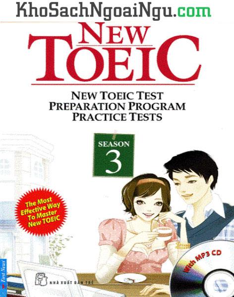Sách New Toeic Season 3 (Kèm CD)