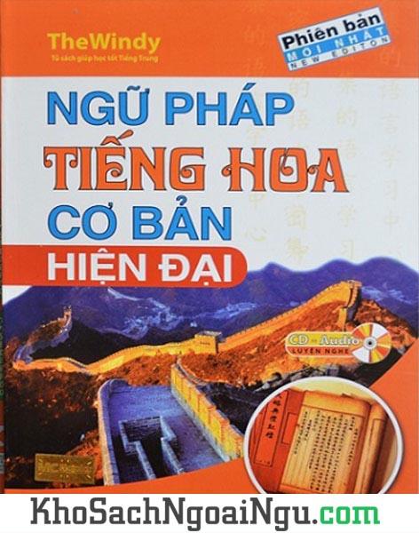 Sách Ngữ pháp tiếng Hoa cơ bản hiện đại
