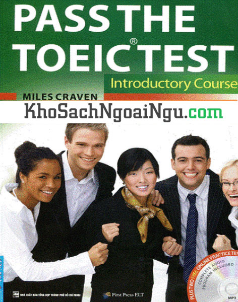 Sách Pass The Toeic test Introductory course (Kèm CD)