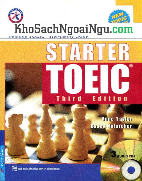 Sách Starter Toeic Third Edition (Kèm CD)