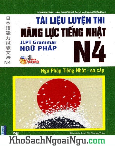 Tài liệu luyện thi JLPT tiếng Nhật N4 Ngữ pháp