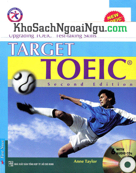 Sách Target Toeic Second edition (Kèm CD)