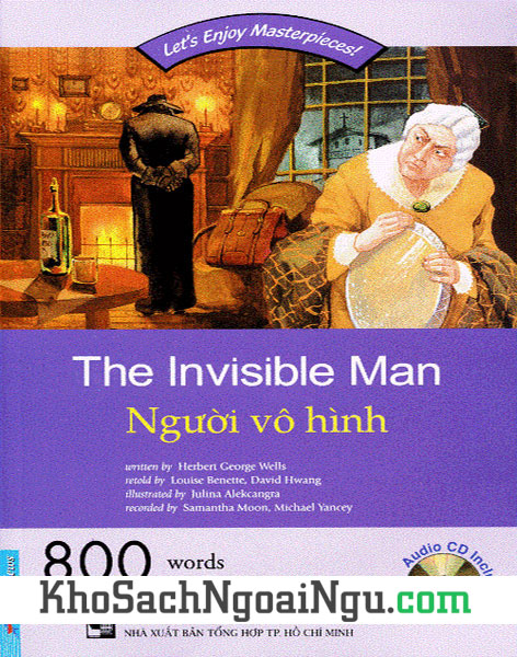 Sách The Invisible man – Người vô hình (Kèm CD)