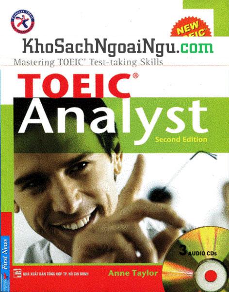 Sách Toeic analyst second edition (Kèm CD)