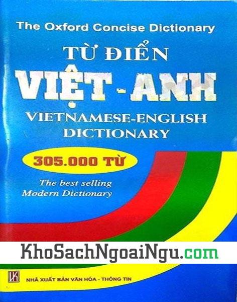 Sách Từ điển Anh Việt – 305.000 từ