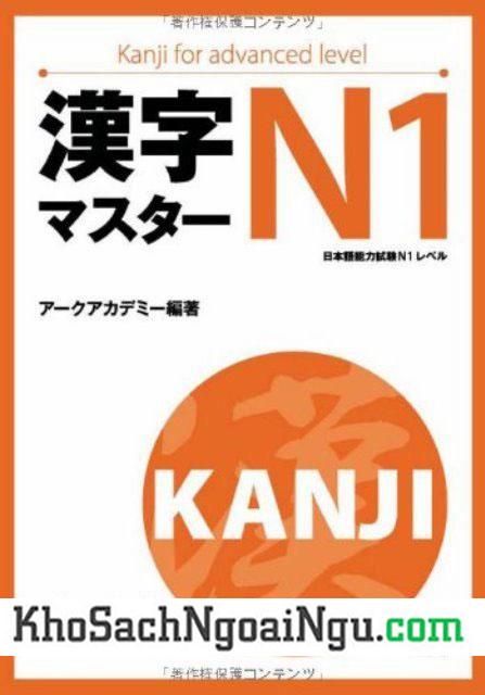 Sách luyện Hán tự Kanji master N1