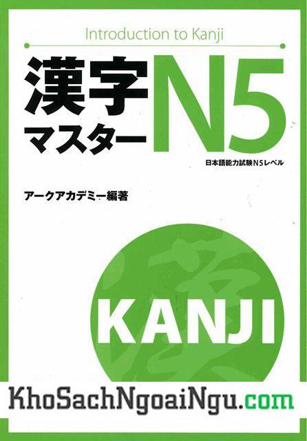 Sách luyện Hán tự Kanji master N5