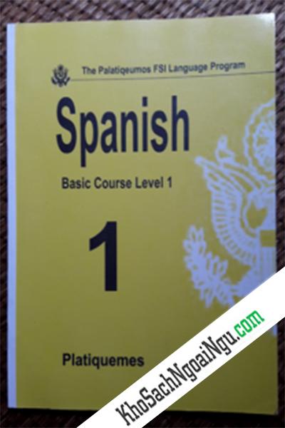 Platiquemos-Fsi-Language-Program-Spanish-Level-1