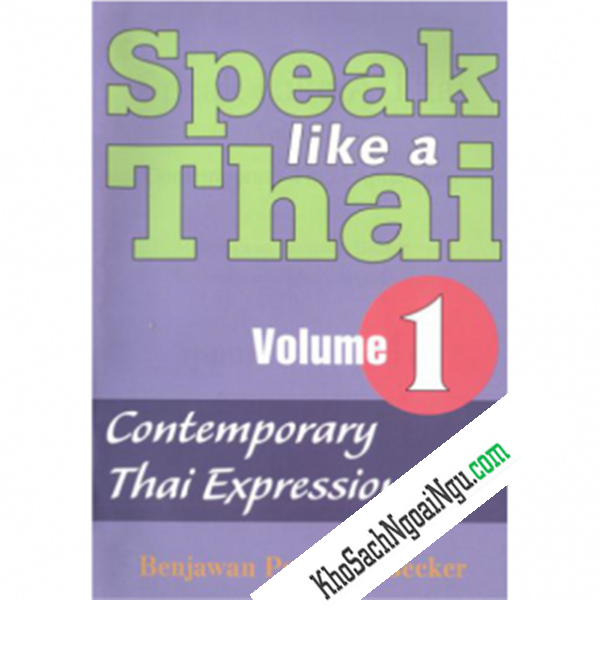 Speak Like A Thai (Volum1)