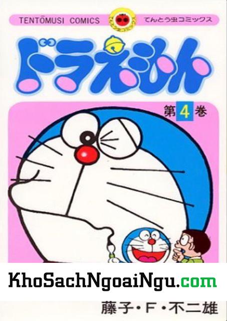 Truyện tranh tiếng nhật Doraemon tập 4