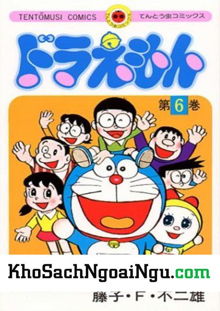 Truyện tranh tiếng nhật Doraemon tập 6
