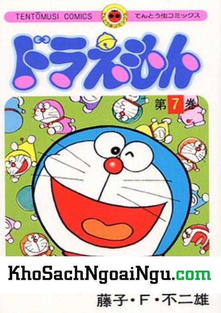 Truyện tranh tiếng nhật Doraemon tập 7