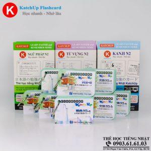 COMBO trọn bộ KatchUp Flashcard trung cấp tiếng Nhật N2