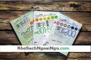 Combo sách học 500 chữ Hán tự qua mẫu chuyện